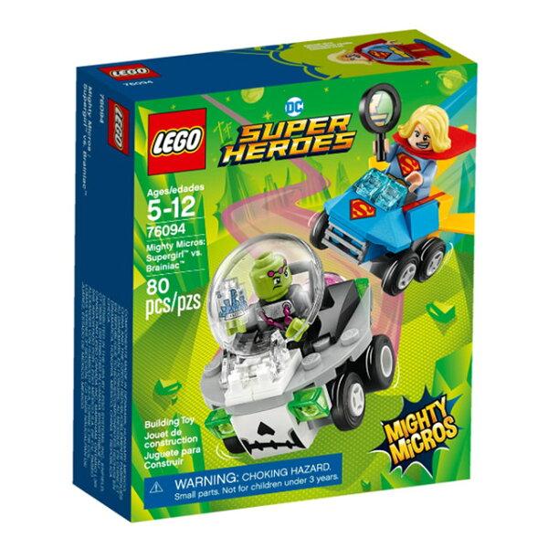 LEGO樂高SuperHeroes迷你車系列76094女超人V.S魔神腦碰碰車【鯊玩具ToyShark】