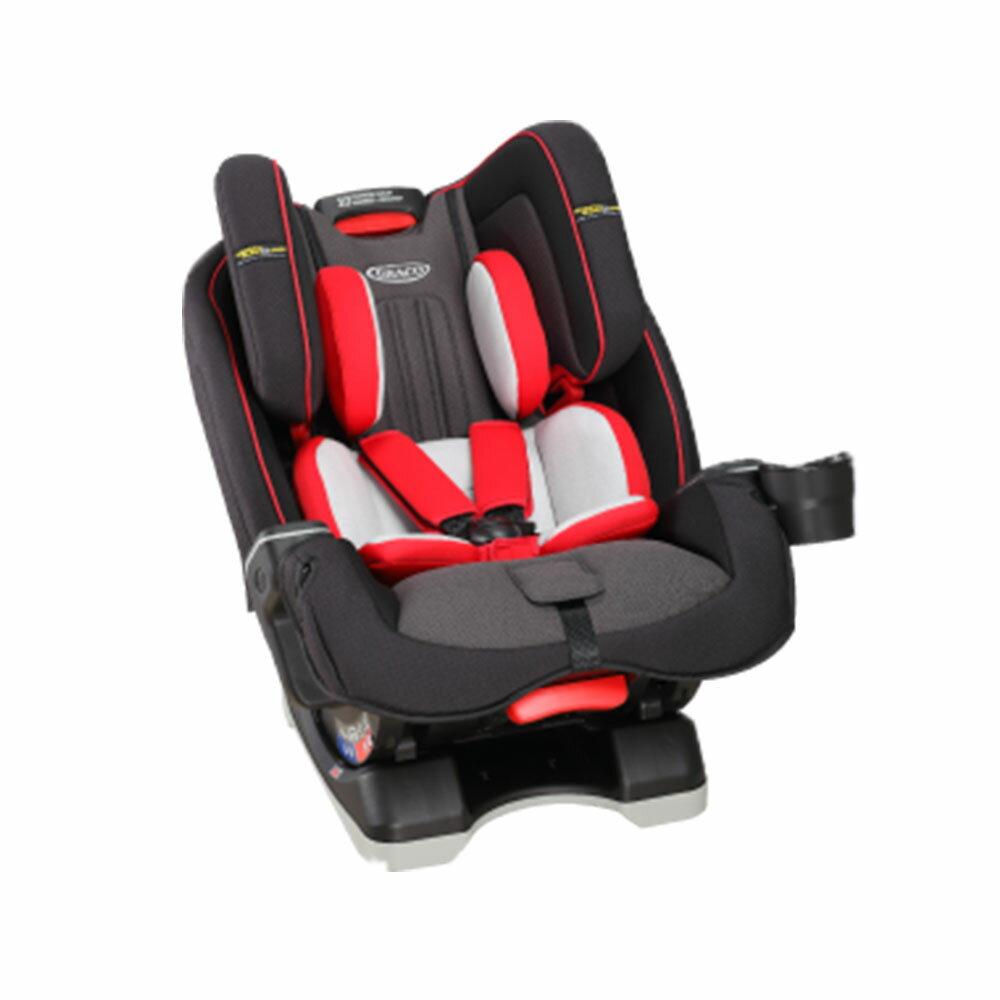 【Graco】 MILESTONE LX 0-12歲長效型嬰幼童汽車安全座椅 (小紅帽/大灰烺))