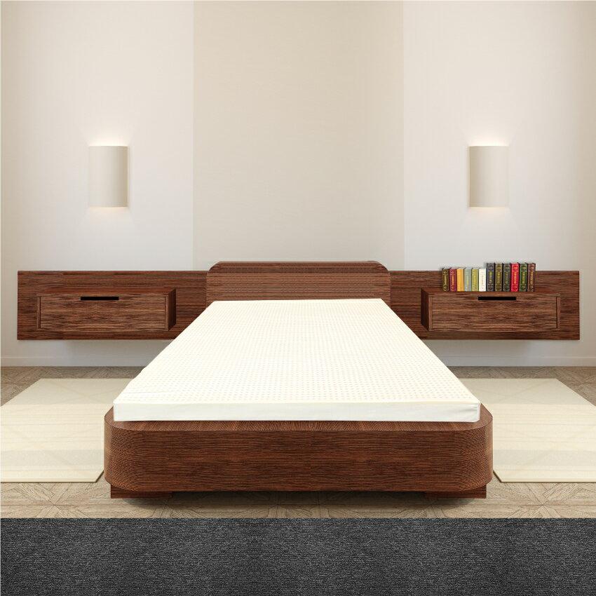 【sonmil乳膠床墊】5cm天然乳膠床墊單人3尺 基本型 無添加香精 學生宿舍床墊 取代記憶床墊折疊床墊 1