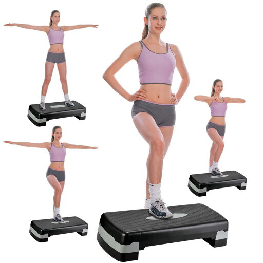 Mirage Ancheer Step Trainer Adjustable Exercise Fitness Workout Stepper