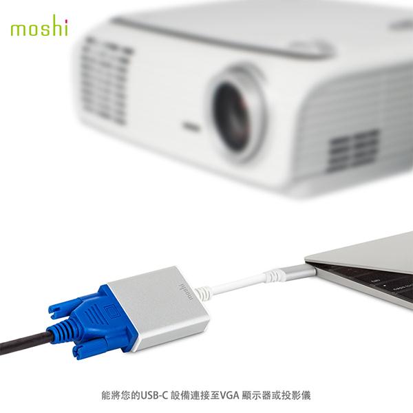 Moshi USB-C to VGA 轉接線(適用新版MacBook Pro) 2