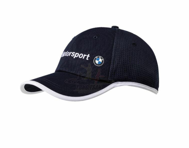 PUMA X BMW Motorsport BB 棒球帽 鴨舌帽 可調整 魔鬼氈 深藍~