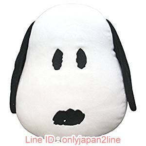【真愛日本】17022400091軟棉柔包子麵團抱枕-SN大頭  史努比 SNOOPY  抱枕 娃娃 擺飾