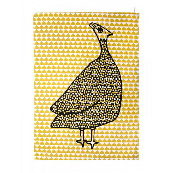 《法國 La Cocotte Paris》Ochre Chic Chick Paulette Tea Towel 茶巾 2