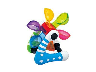 ★衛立兒生活館★Toyroyal樂雅 包膠系列 小星星水車/洗澡玩具/沙灘玩具