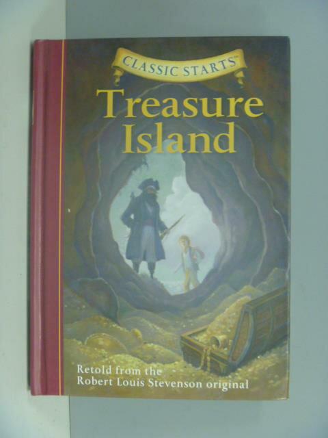 【書寶二手書T1/兒童文學_KFT】Treasure Island_Robert Louis Stevenson