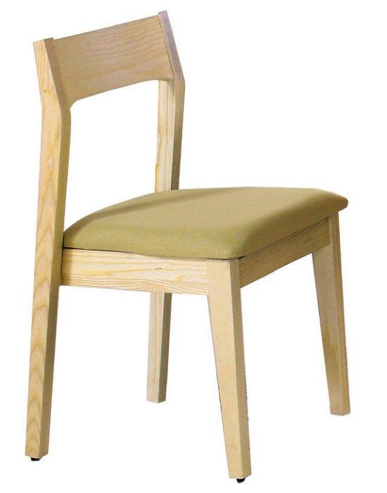 ~尚品傢俱~JF~983~7 布蘭妮栓木綠色布餐椅