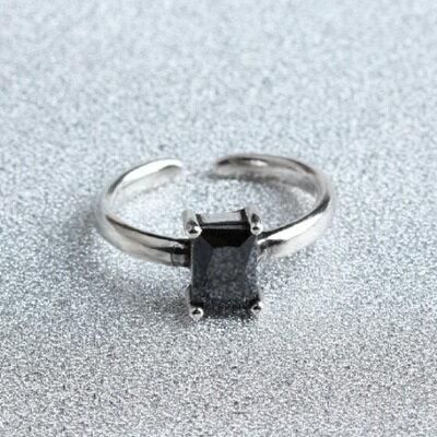 925純銀戒指瑪瑙開口戒~復古高貴簡約 生日情人節 女飾品73gp48~ ~~米蘭 ~