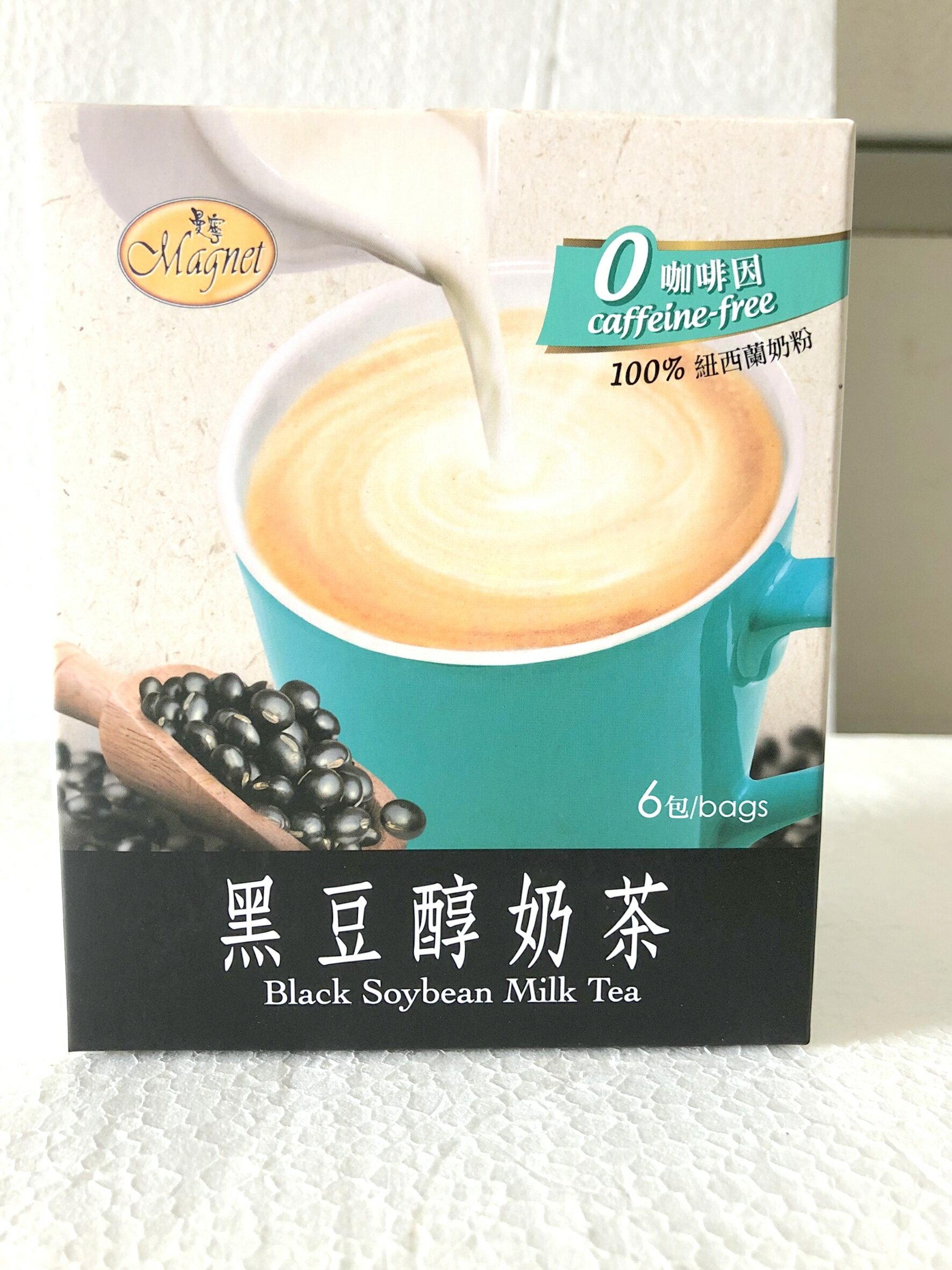 曼寧~黑豆醇奶茶25公克x6包/盒