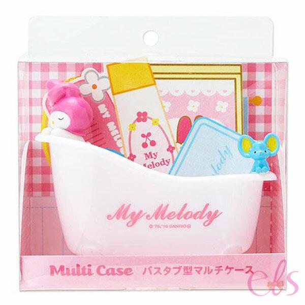 艾莉莎ELS:日本Melody美樂蒂浴缸造型多用途收納組☆艾莉莎ELS☆