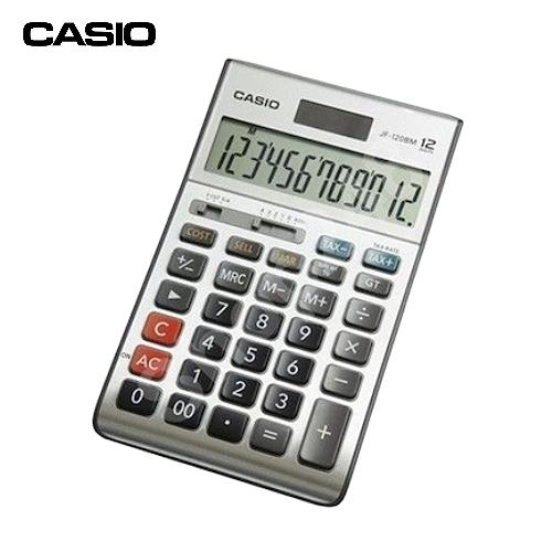 CASIOJF-120BM稅率計算機(12位數)