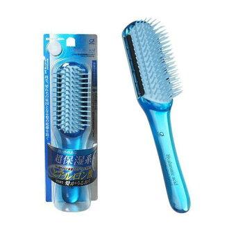 【日本進口】 IKEMOTO 池本 玻尿酸 超保濕 按摩梳 美髮梳 池本梳 受損髮質適用 HR-80BL - 106169