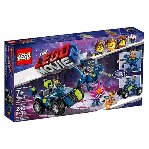 樂高LEGO 70826 The LEGO Movie 樂高電影系列 -Rex's Rex-treme Offroader! - 限時優惠好康折扣