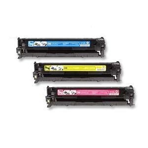 【台灣耗材】HP 環保碳粉匣305A CE411A藍色/CE412A黃色/CE413A紅色 單支顏色任選 5%覆蓋率2600張 適用 HP M451nw/M451dn/M375nw/M475dn雷射印..