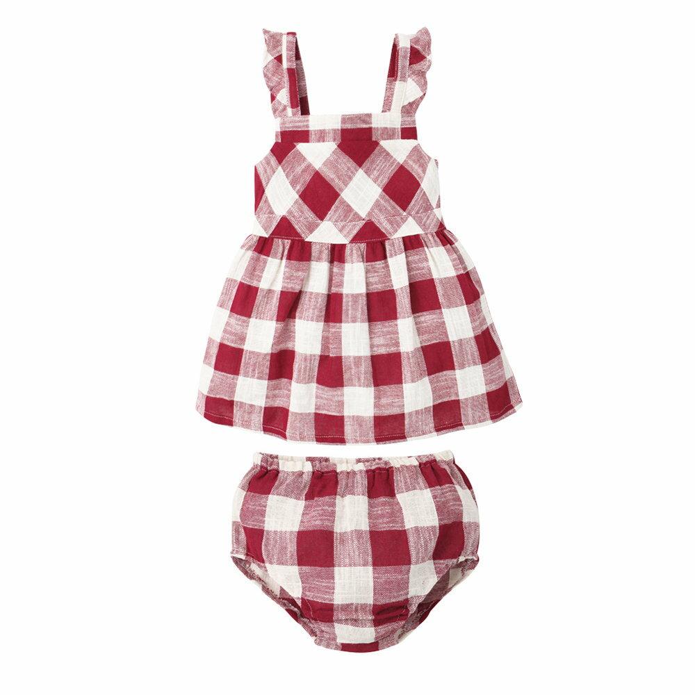Augelute baby 荷葉邊造型吊帶連身套裝 73001 4