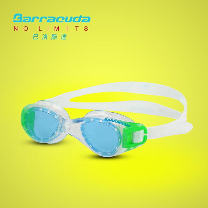 美國巴洛酷達Barracuda6-12歲青少年專業訓練系列抗UV防霧泳鏡-TITANIUM JR#30920 1