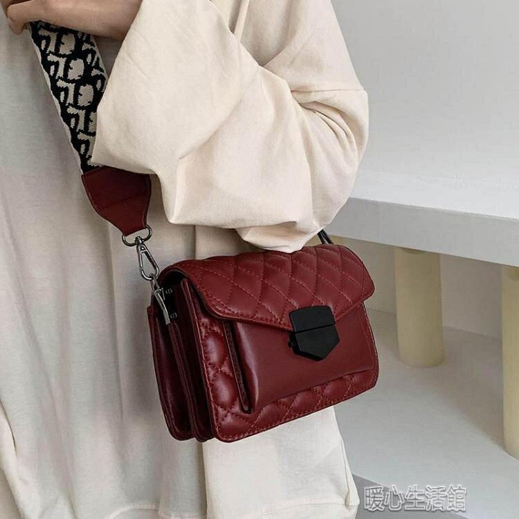 手提包今流行包包女新款潮網紅洋氣高級質感寬帶百搭斜挎insyh