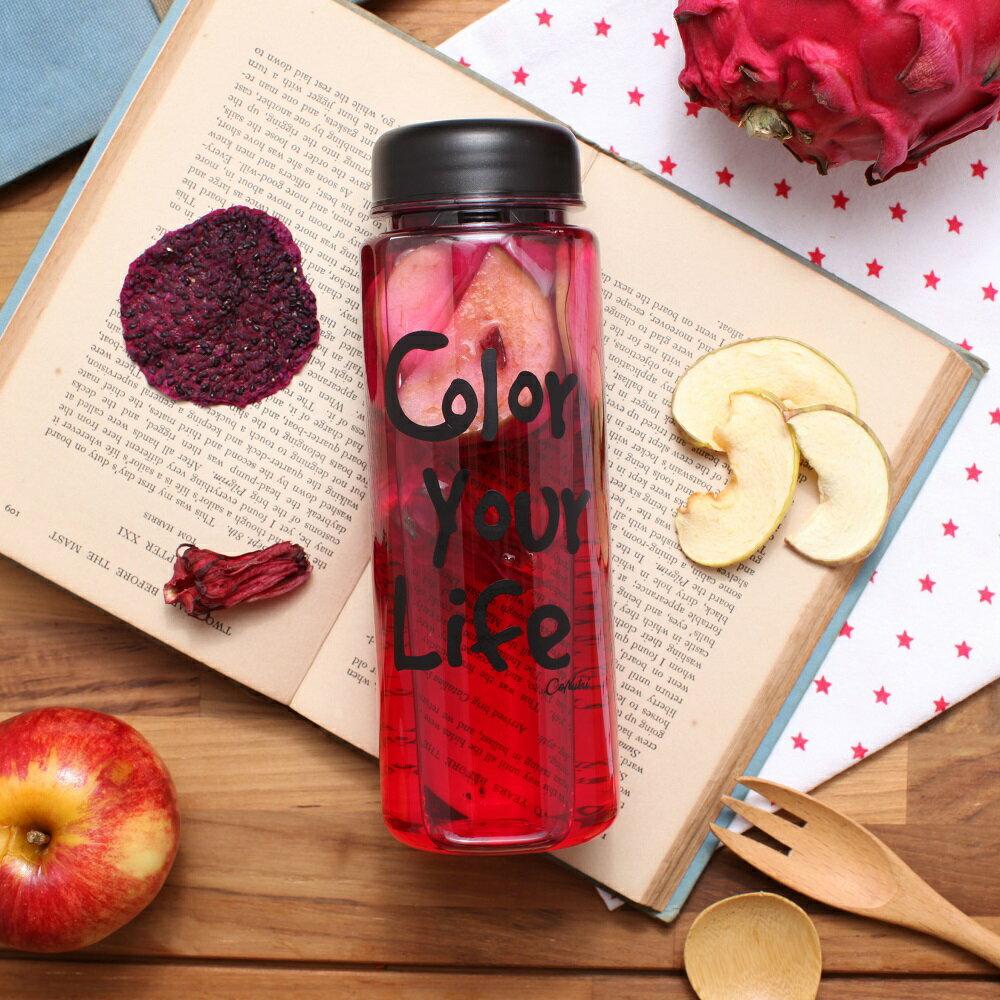 【台灣常溫】Color Your Life 花果水手提禮盒 (8包 + 1隨身瓶)-冷沖熱飲都可以