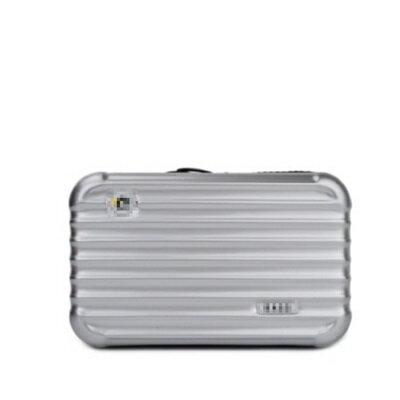 <br/><br/>  ☆手拿包時尚化妝包-純色迷你行李箱造型女包包10色73ft17【獨家進口】【米蘭精品】<br/><br/>