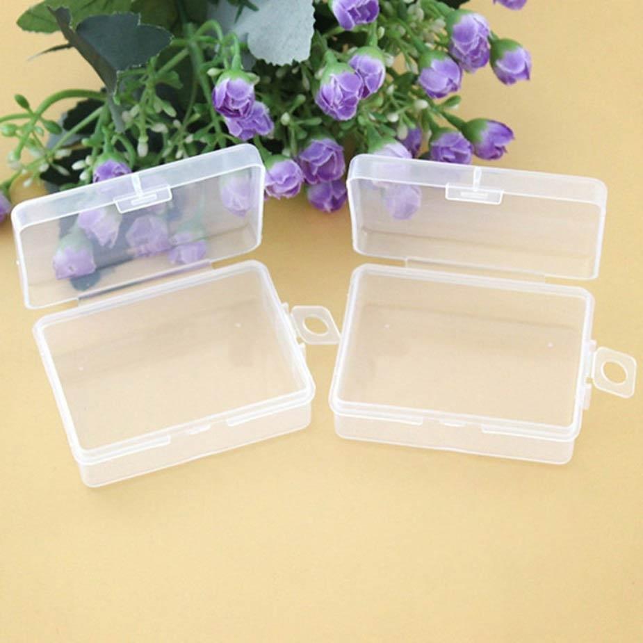 PS Mall 通用包裝盒小盒子收納盒透明塑膠盒【J1629】 1