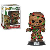 星際大戰 玩具與公仔推薦到(卡司 正版現貨) 代理版 FUNKO POP 星際大戰 STAR WARS 聖誕樹 丘巴卡 Chewbacca 公仔就在卡司玩具推薦星際大戰 玩具與公仔
