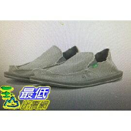 [COSCO代購 如果沒搶到鄭重道歉] W748921 Sanuk 男經典款帆布懶人鞋 棕/灰
