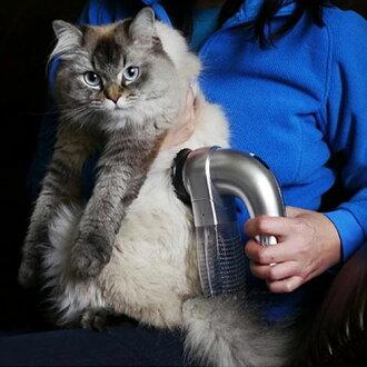 【寵物貴族】寵物電動SPA按摩吸塵器/寵物電動吸毛器/去毛球機 毛小孩專用