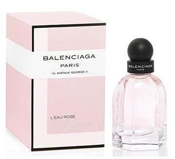 香水1986☆BalenciagaL'EauRose巴黎世家巴黎玫瑰女性淡香水75ml