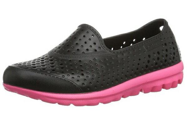 [陽光樂活]Skechers(童)H2GO-Waterlillys女童水鞋洞洞鞋-86622LBKHP