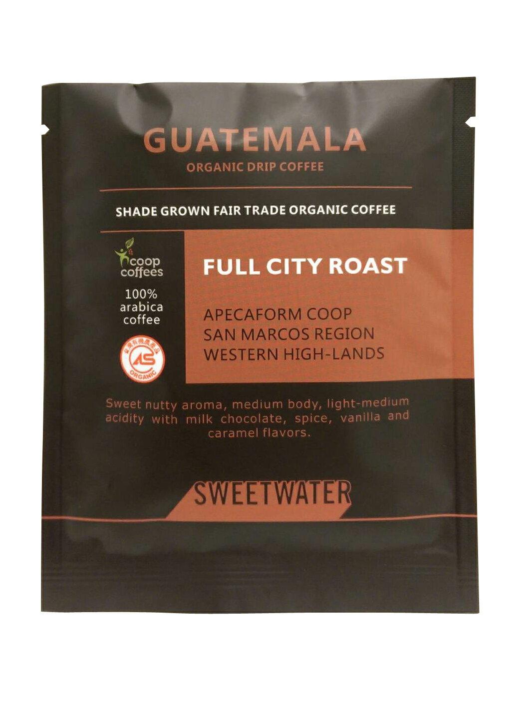 【SWEETWATER】瓜地馬拉有機咖啡豆--掛耳式(1包10入) - 限時優惠好康折扣