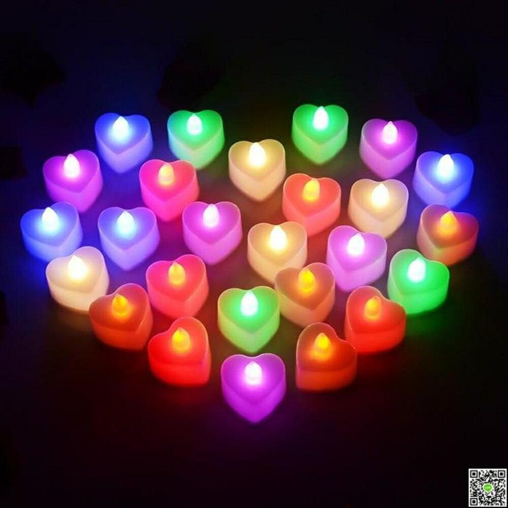 led電池式電子蠟燭燈蠟燭電子上墳電子燈小發光仿蠟燭MKS 清涼一夏钜惠