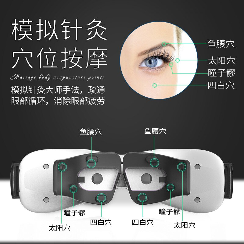廠家護眼儀眼睛按摩器疲勞恢復眼罩視力美眼儀眼部