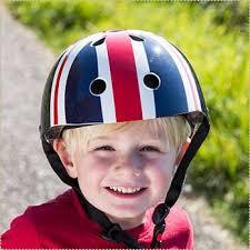 領券$1338英國kiddimoto兒童安全帽(時尚英倫繽紛彩點酷炫骷髏)【寶貝樂園】