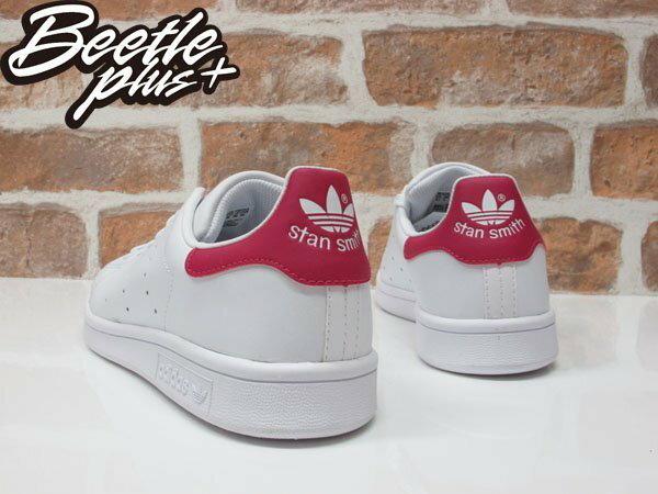 BEETLE PLUS ADIDAS ORIGINALS STAN SMITH 白桃紅 皮革 復古 休閒運動鞋 女鞋 AQ3499 B32703 2