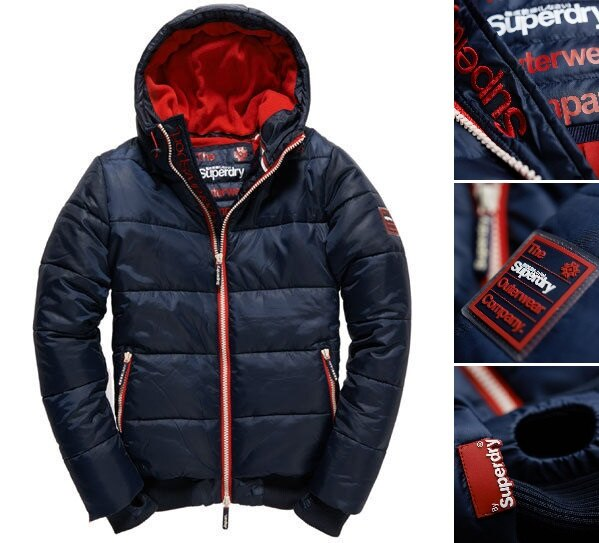 極度乾燥 Superdry 男款 經典保暖外套 羽絨 防風 超輕質 潮流必備 斷貨出清