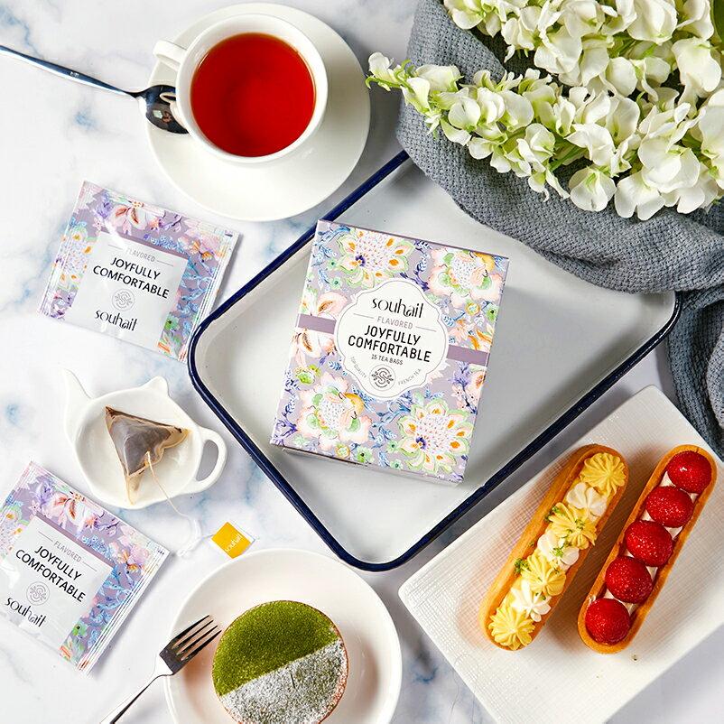 試喝包 Souhait Tea濃甜不膩法式水蜜桃調味紅茶 - Joyfully Comfortable 樂觀自在 3