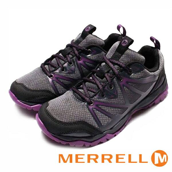 【MERRELL 促銷6折│全店免運】MERRELL 戶外鞋 Capra Rise 女鞋 紫 健行鞋│休閒鞋│運動鞋-ML37314