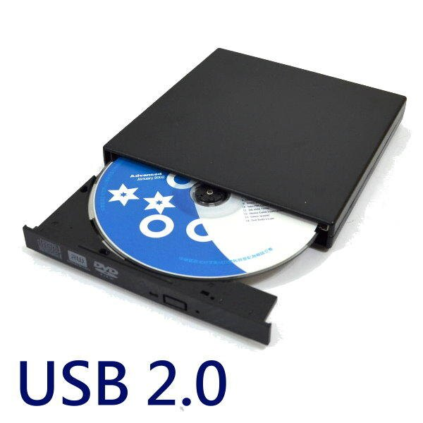 外接式DVD 燒錄機USB2.0超薄燒錄機8X 24X可燒錄CD DVD隨插即用【DM478】◎123便利屋◎