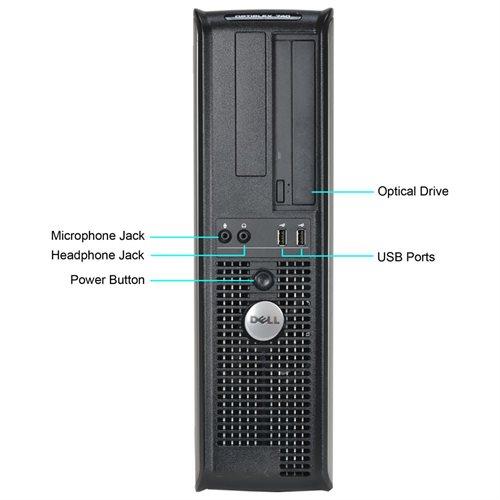 Dell Optiplex 740 Desktop AMD A64 X2 2.3GHz, 2GB RAM, 750GB HDD, DVDRW, Win 10 Pro (64-bit) 1