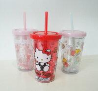 美樂蒂My Melody周邊商品推薦到三麗鷗 凱蒂貓美樂蒂雙子星 可愛造型杯(雙子星完售)