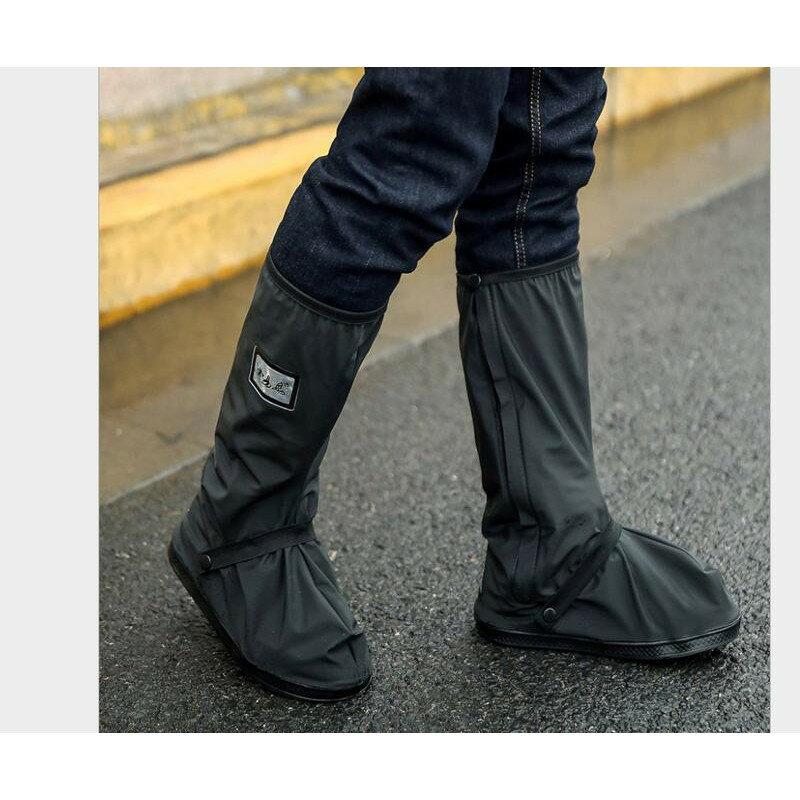 【SG377】長筒雨鞋套 雨鞋套 鞋套 防水雨鞋 防水鞋套 鬆緊帶雨靴 穿脫方便 防滑雨鞋 梅雨季必備 雨天必備