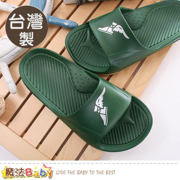 男鞋台灣製輕量彈力運動拖鞋魔法Baby~sa83805