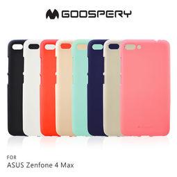 【愛瘋潮】99免運 GOOSPERY ASUS ZenFone 4 Max ZC554KL 液態矽膠殼 TPU 軟套 手機殼 軟