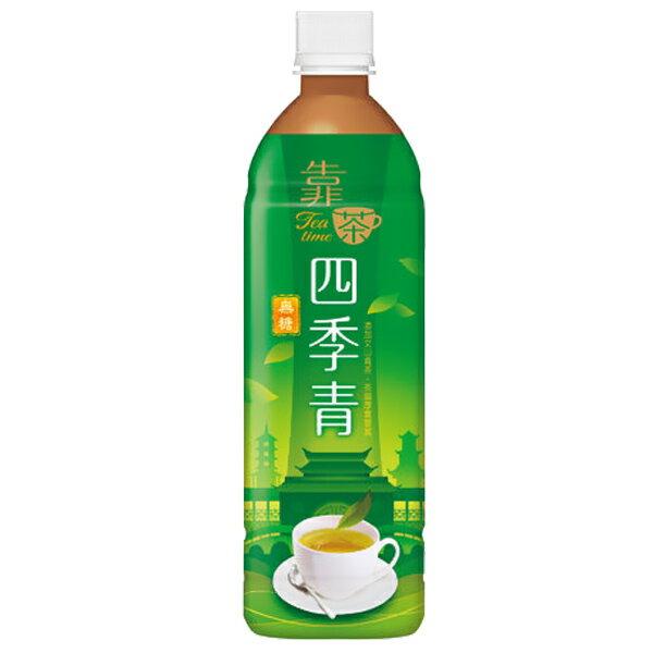 波蜜 靠茶四季青茶 580ml