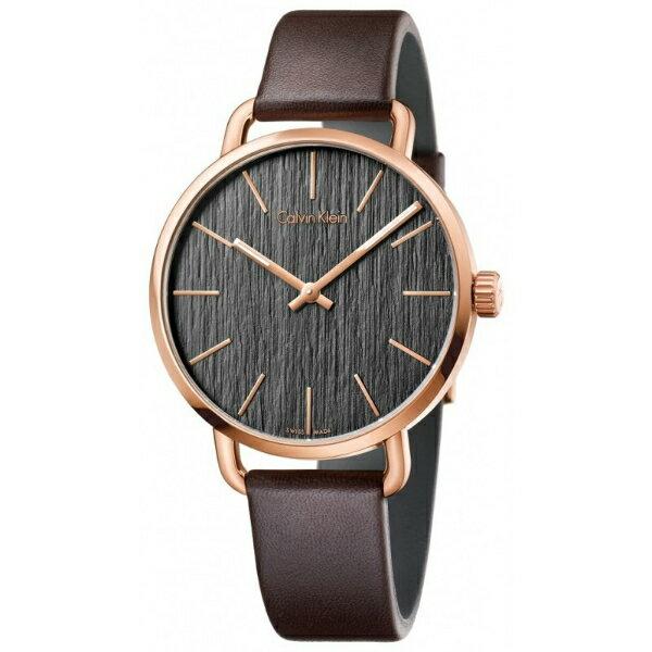CK EVEN系列^(K7B216G3^)岩紋 腕錶 黑面42mm