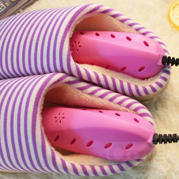 除濕除臭烘鞋器 乾鞋器 鞋子烘乾器 兒童成人都可用【庫奇小舖】紅色藍色隨機出貨