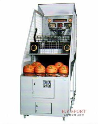 H.Y SPORT 【強生CHANSON】 WMH-637 搖滾銀子籃球機/投籃機 街頭籃球 享原廠保固(免運+安裝)