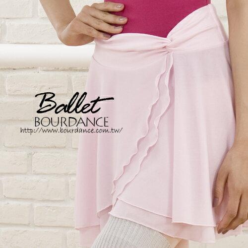 *╮寶琦華Bourdance╭*專業瑜珈韻律芭蕾☆抓縐層次設計雪紡片裙【BDW13B15】
