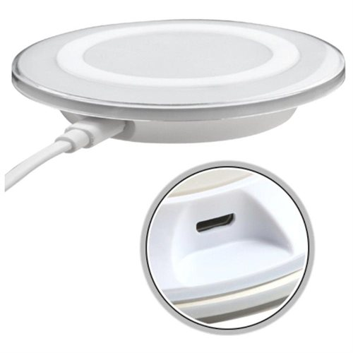 Insten For Samsung Galaxy S6 & S6 Edge Qi Wireless Charger Charging Plate Pad (with Pakage) - White 1