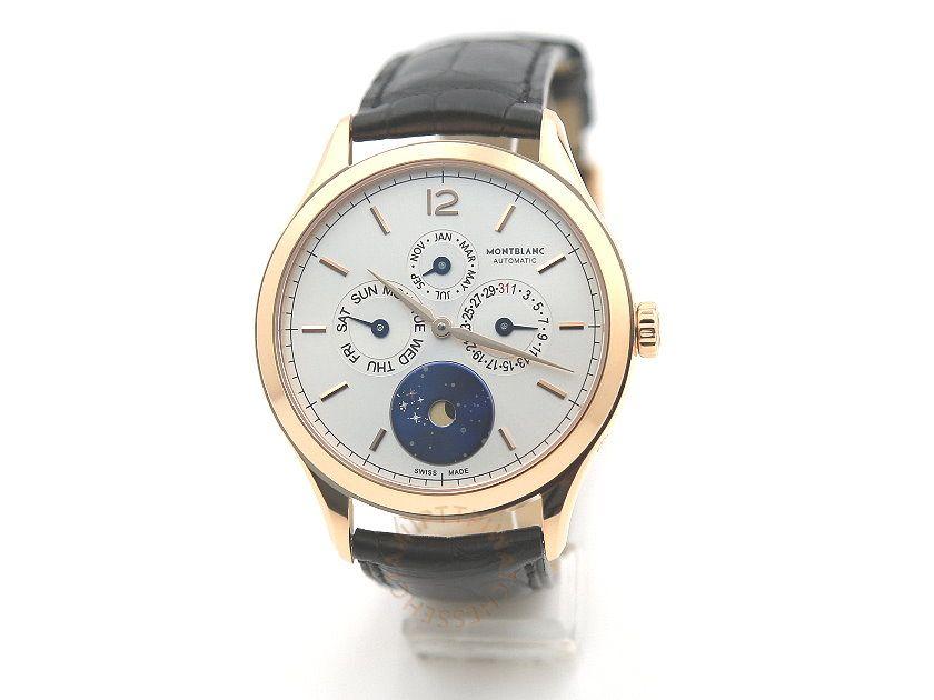 MONTBLANC 萬寶龍 Heritage Chronometrie Quantieme Annuel Vasco da Gama 18K金全日曆限量版